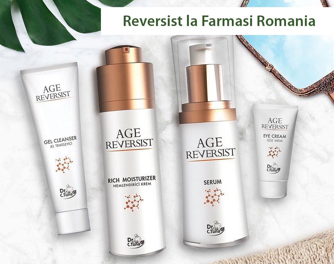 Gama Reversist disponibila la Farmasi Romania